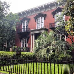 Mercer House in Savannah | Midnight in the Garden of Good & Evil
