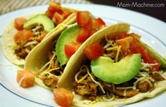 Crock pot carnitas tacos