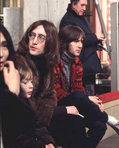 John, Yoko, Julian, and Eric Clapton