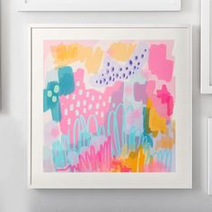 Cotton Candy Wall Art by Minted®