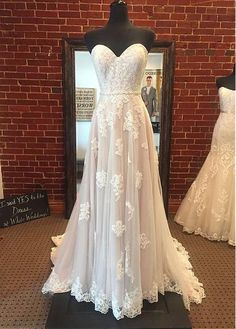 Wedding dresses - Light and airy boho wedding dress by Stella York Lace appliqués cascade down a frothy tulle skirt Finished with a beaded belt that accents the waist Boho Wedding Dress, Dream Wedding Dresses, Mermaid Wedding, Wedding Day, Budget Wedding, Wedding Reception, Wedding Stuff, October Wedding Dresses, Country Style Wedding Dresses