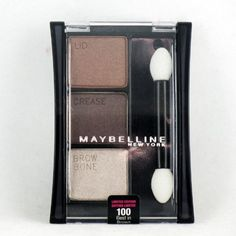Maybelline Expert Wear Eyeshadow Trio - Best In Brown >>> Check this awesome product by going to the link at the image. (This is an affiliate link and I receive a commission for the sales) #Eyeshadow
