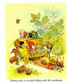 "this whole book is perfect                 ""Nicky and His Forest Friends"" by Marilyn Nickson and illustrated by Fritz Baungarten 1968."