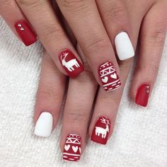 """Another red sweater. Can you be more in the spirit? "" Photo taken by @professionalnailss on Instagram, pinned via the InstaPin iOS App! http://www.instapinapp.com (12/21/2015)"