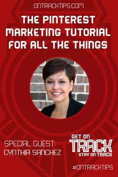 "The Pinterest Marketing HOA for All the Things http://jtw.bz/CSHOA  Cynthia Sanchez started to use Pinterest in 2011 and in 2012 left her job as a full-time radiation oncology nurse to focus on building her ""Oh So Pinteresting"" business.   Today Cynthia is a leading authority on Pinterest and is commonly found presenting at larger social media conferences and summits. http://jtw.bz/CSHOA  #OnTrackTips  @Pinterest @CynthiaPins"