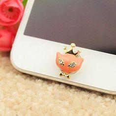 iphone sticker-love fox