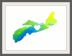 i love nova scotia 85x11 by audreyandgem on Etsy, $15.00