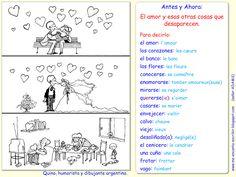 Me encanta escribir en español: Quino: El amor desaparece.