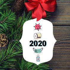 2020 Christmas Ornament Toilet Paper, 2020 Sucks, Covid Quarantine, Mask, Virus, Sanitizer, Commemorative Funny Gift Stocking Stuffer Gag Gifts, Funny Gifts, Fancy Mirrors, Cat Keychain, Christmas Gifts For Coworkers, White Elephant Gifts, Mild Soap, Birthday Party Decorations, Stocking Stuffers