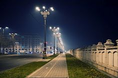Liberty Avenue, a night walk in Bucharest.