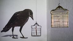 Video documentation of: A site-specific multi channel video installation  BAGGAGE // Group Exhibition // Neurotitan Gallery // Berlin  Visit my website for more details and pictures:  http://itamarinbar.com/The-Hope  A found window and a bird cage are hanged from the ceiling and a video is being projected on those objects. The video consists of several different segments: big scale crow, rain, a hand and a small naked person; whistles the Israeli national anthem (Hatikvah).  I used the Noah…