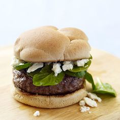 Griekse kaasburger #WWrecept #WeightWatchers