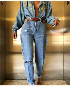 ropa 65 vintage outfits that make the - Fashion Killa, Look Fashion, 90s Fashion, Fashion Outfits, Womens Fashion, Fashion Trends, Thrift Fashion, Funky Fashion, Jeans Fashion