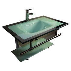 """Kokols 24 Bathroom Vanity Set 24"""" single pedestal bathroom vanity set   bathroom vanities"""