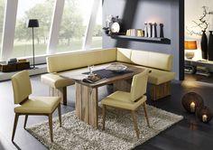 AuBergewohnlich U201eSummeru201c Moderne Eckbank Mit Voll Gepolsterter Sitzfläche. 100 % Echtleder.
