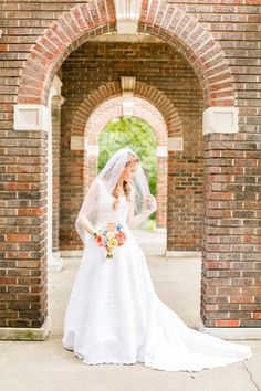 My favourite photo location is archways! Especially for brides!!! Kathryn Grace Photography