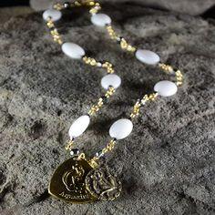 www.JamesMurrayJewelry.com #zodiac #astrology #horoscope #jewelry #swarovski #crystal #gift #holiday #birthday #JamesMurray #aquarius