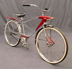 1965 Sears Spaceliner/ my sister had one, the headlight would turn on...so cool!!  hers was light blue