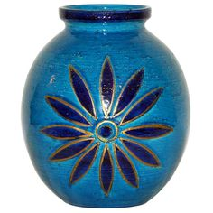Large Bitossi Starburst Vase | From a unique collection of antique and modern vases at http://www.1stdibs.com/furniture/dining-entertaining/vases/