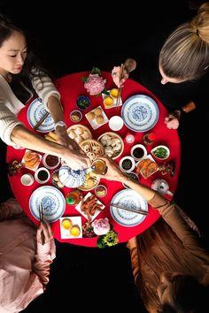 rosh hashanah festive meal