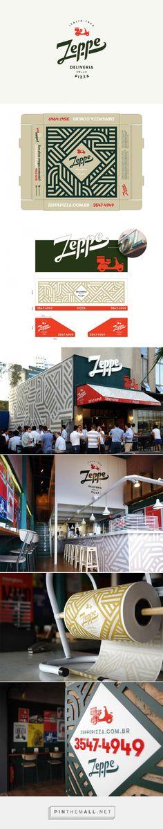 Zeppe — Deliveria della Pizza | Logo Design Love - created via https://pinthemall.net