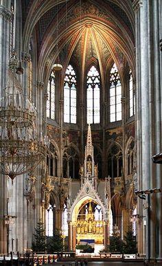Vienna Votivkirche, Heinrich Ferstel