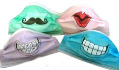 Medical masks can be scary for children. This is a cute and fun way for children to become familiar with the masks