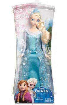 ELSA Frozen Kraina Lodu Disney MATTEL NAJTANIEJ
