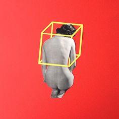 ' Boxed ' Collage on paper© Sammy Slabbinck 2015