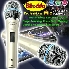Here is a sneak peak at what's new and fresh at Costbuys today PK-2000 Cardioid ... see for yourself and don't ever doubt again http://www.costbuys.com/products/pk-2000-cardioid-broadcasting-microphone-professional-wired-dynamic-mic-computer-recording-studio-condenser-microphone-microfono?utm_campaign=social_autopilot&utm_source=pin&utm_medium=pin