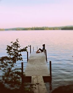 dock, squam lake, new hampshire | nature photography + waterscapes #adventure