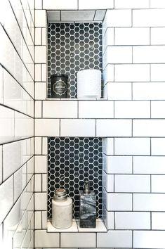 Luxury Black and White Bathroom Ideas 75