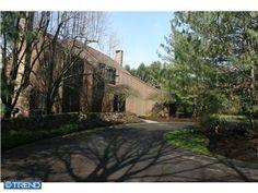 Gwynedd Valley cedar home on 2+ acres overlooking pond