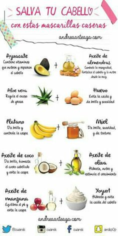 Salva tu cabello. Tips mascarillas. Aloe vera, huevl, aguacate, miel, banana, aceite de oliva, aceite de almendras, aceite de coco