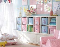 Pottery Barn Kids Girl Storage