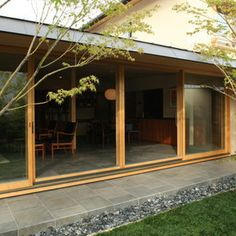 Japanese Home Design, Japanese House, Japan Architecture, Architecture Design, Indoor Zen Garden, Small Tiny House, Courtyard Design, Modern Rustic, My Dream Home