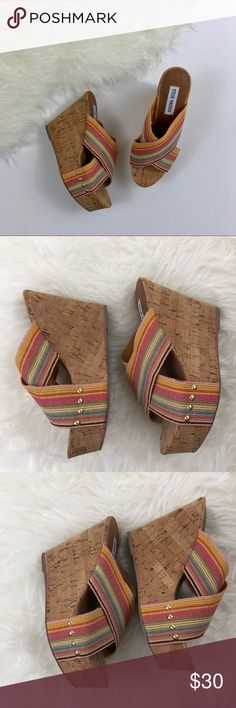 Steve Madden 'Pride' Wedge Sandals