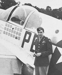 Lt. Jack Thornell WWII ace with 17 victories - Stardust Studios