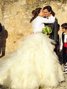 La boda de Mafalda y Gonzalo #bodas #famosos