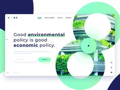 Green Voobe Landing Page