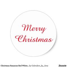 Christmas Amazone Red White Sticker by Janz Christmas Stickers, Sticker Design, Holiday Gifts, Red And White, Merry Christmas, Calendar, How To Get, Graphic Design, Store