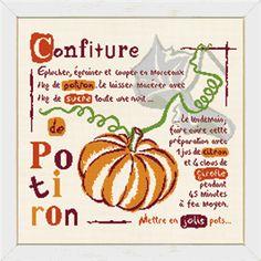 The Needlework Show Pumpkin Jam, Le Point, Cross Stitching, Cross Stitch Patterns, Needlework, Chutneys, Couture, Halloween, Punto De Cruz