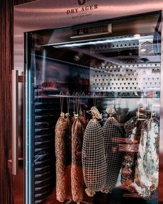 DRY AGER® – the Original! Dry Aging fridge & refrigerator - Made in Germany. The Dry Aging cabinet for beef, pork, charcuterie and cheese. Meat Cellar, Wine Cellar, Modern Grey Kitchen, French Kitchen, Kitchen Interior, Kitchen Design, Meat Love, Dry Aged Beef, Copper Farmhouse Sinks