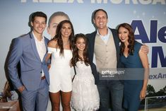 LOS ANGELES, CA - MAY 31: (L-R) Actor Matt Cornett, professional soccer player Alex Morgan, actor Siena Agudong, actor Jim Klock and actor Chuti Tiu attend the premiere of 'Alex & Me' at the DGA Theater on May 31, 2018 in Los Angeles, California.  (Photo by Jesse Grant/Getty Images for Warner Bros. Home Entertainment )