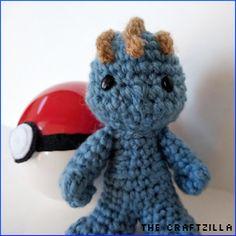 Free Machop Pokemon Amigurumi Crochet Pattern from The Craftzilla
