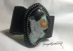 Lander County Turquoise  Comminsion Art Piece