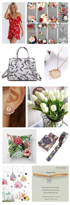 eBay Bargains: Floral Finds | Makeup Savvy - makeup and beauty blog Makeup And Beauty Blog, My Ebay, Floral, Stuff To Buy, Posts, Spring, Products, Fashion, Florals
