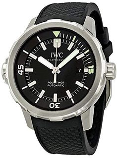 d6fde01cc22 Shop for IWC Men s  Aquatimer  Automatic Rubber Watch. Get free delivery at  Overstock - Your Online Watches Store!
