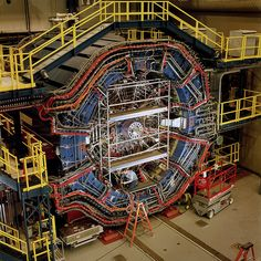 The Solenoidal Tracker at RHIC (STAR) is a detector which specializes in tracking the thousands of particles produced by each ion collision at RHIC. Weighing 1,200 tons, STAR is a massive detector used to search for signatures of quark-gluon plasma.