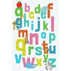 Alphabet Canvas Art - SD Graphics Studio (20 x 28)